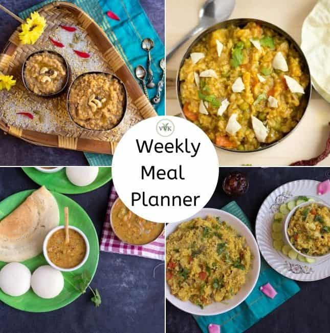 pongal festival meal planner