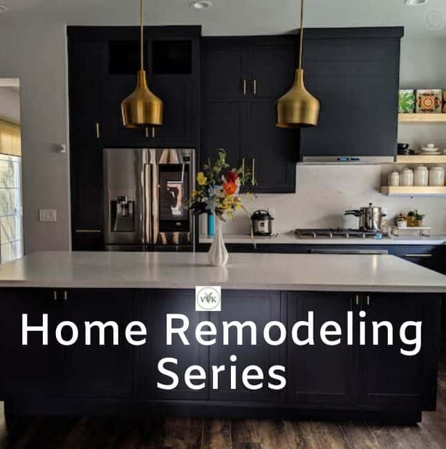 home remodeling series intro post