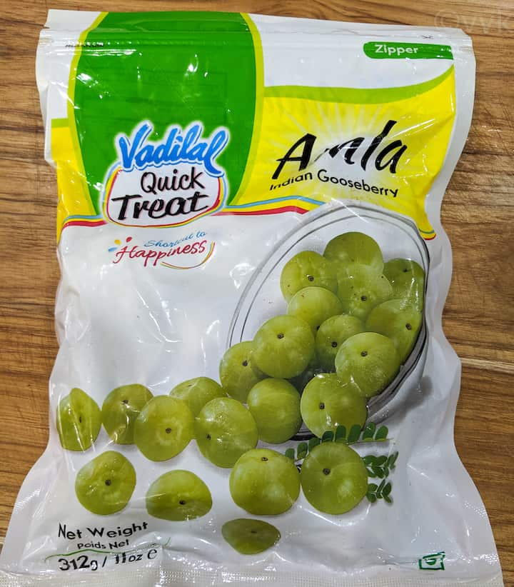 frozen gooseberry pack that I bought