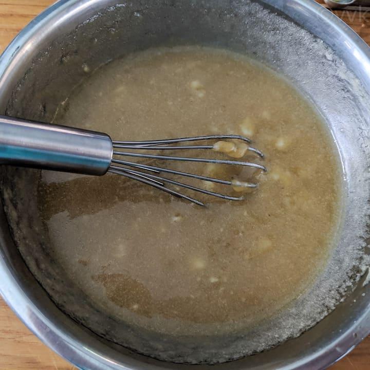 banana bread wet ingredients