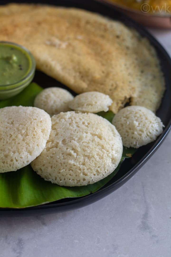 soft and pillowy idli