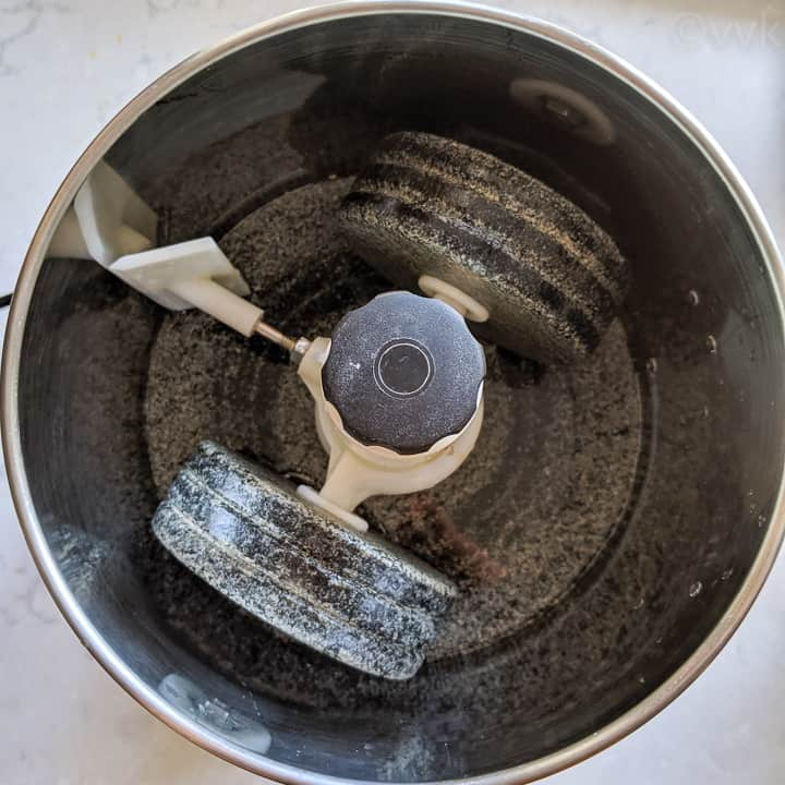 wet grinder after washing