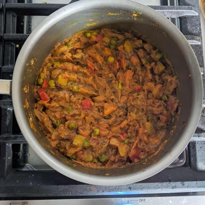 niced mixed bharta