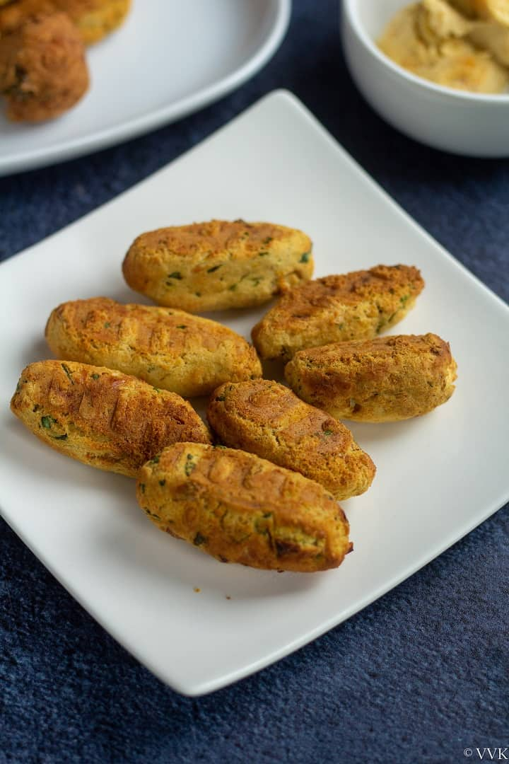 air fried falafels