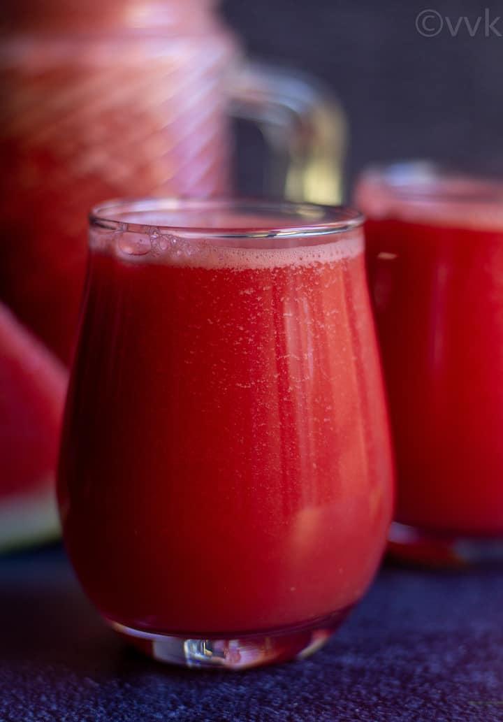 watermelon detox with ginger and nannari sarbath