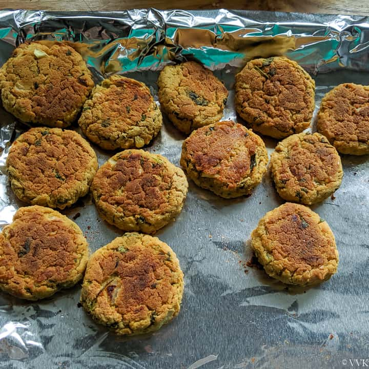 fully baked falafels