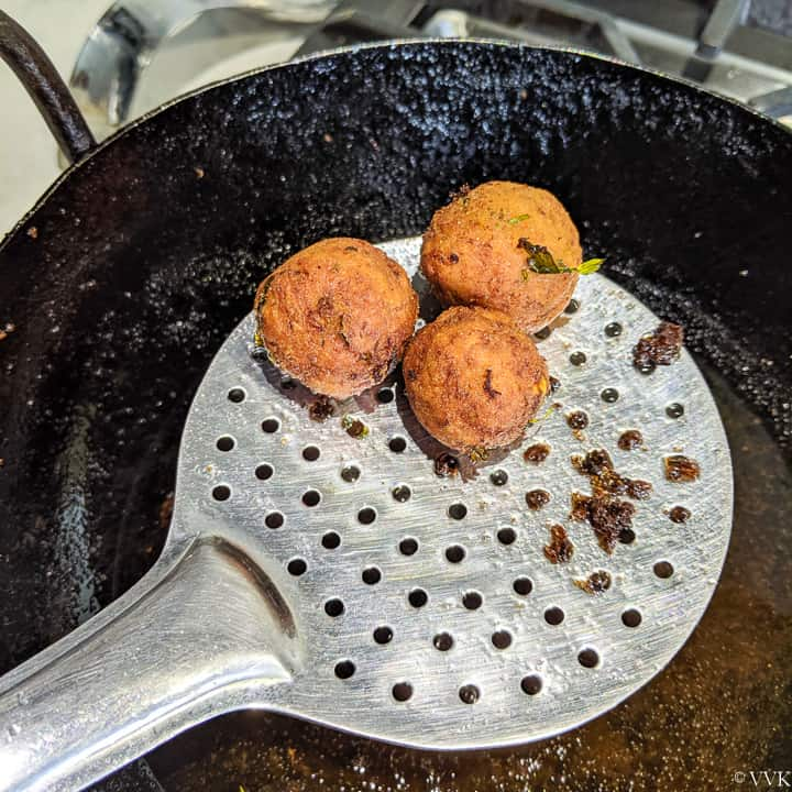 deep fried falafels