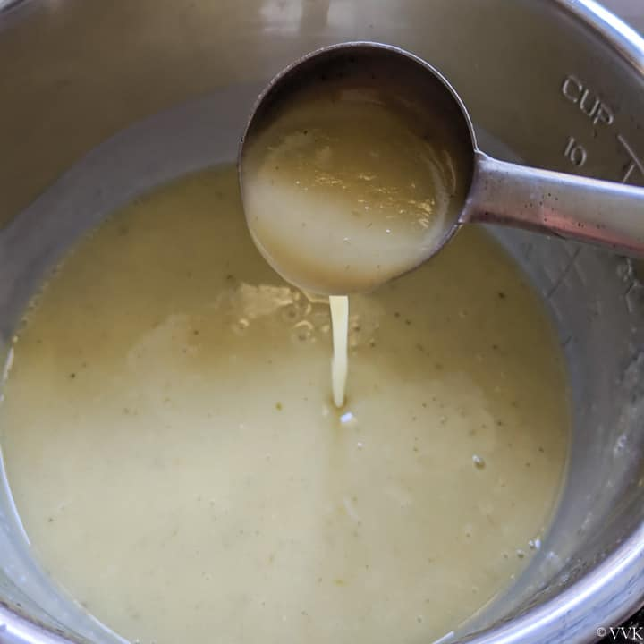 soup consistency