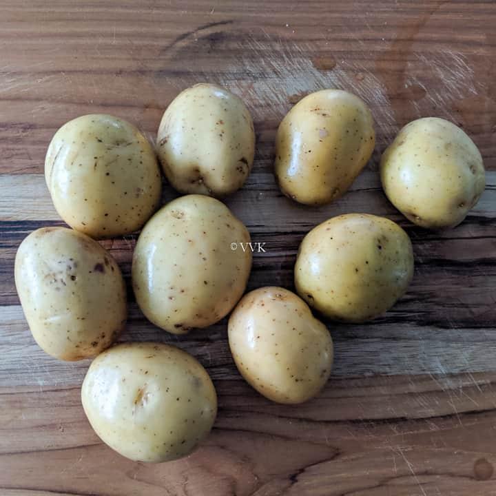 potatoes that I used