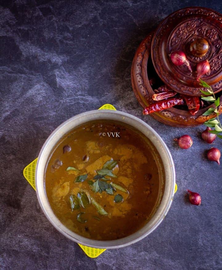 sambar served in uruli