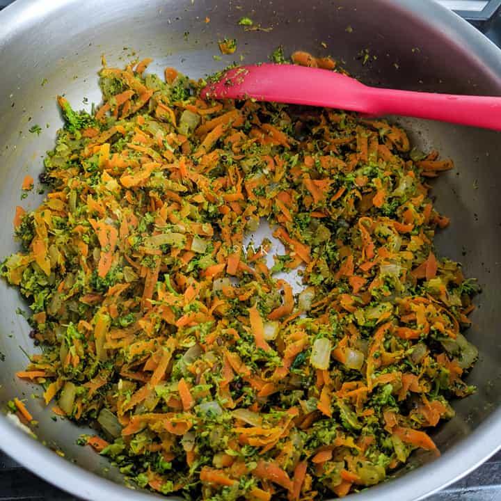 broccoli carrot filling