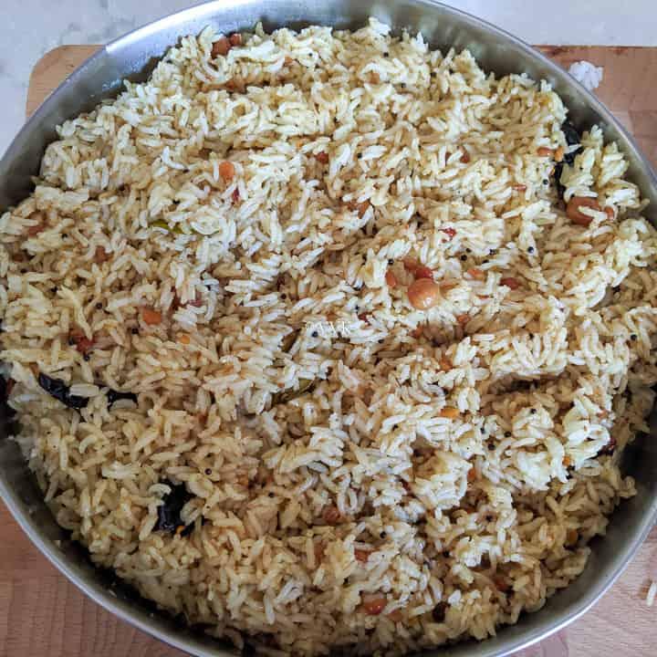 mixed tamarind rice
