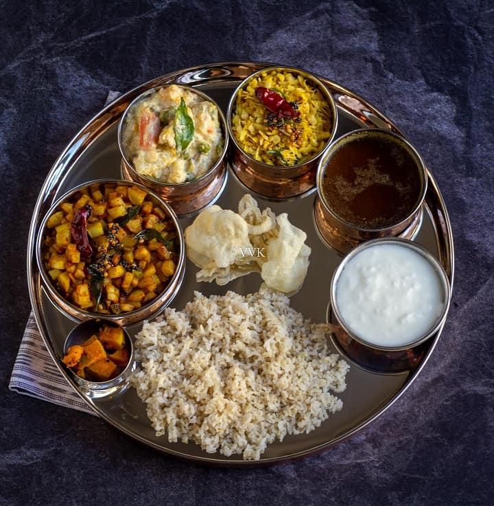 amavasya special no onion no garlic lunch menu