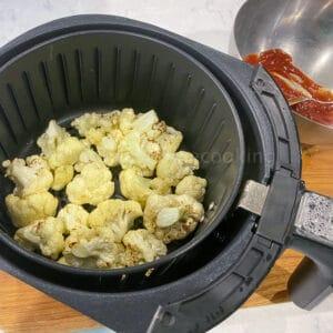 cooked cauliflower