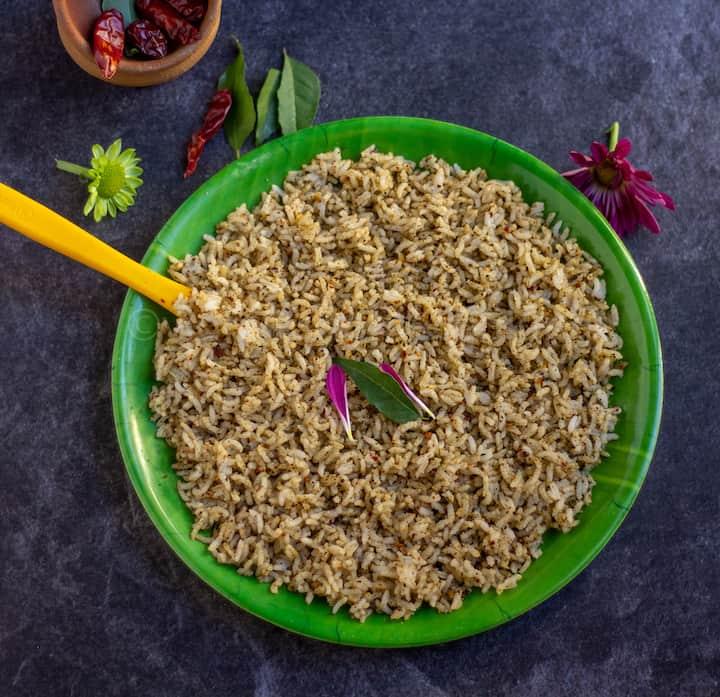 sesame rice mixed