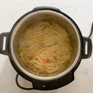 cooked khao soi