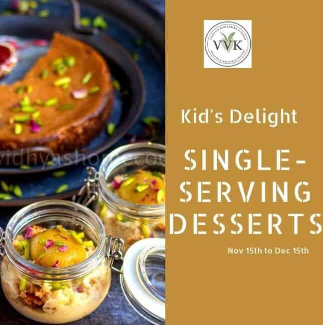 kids delight single serving desserts