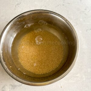 soaking foxtail millet