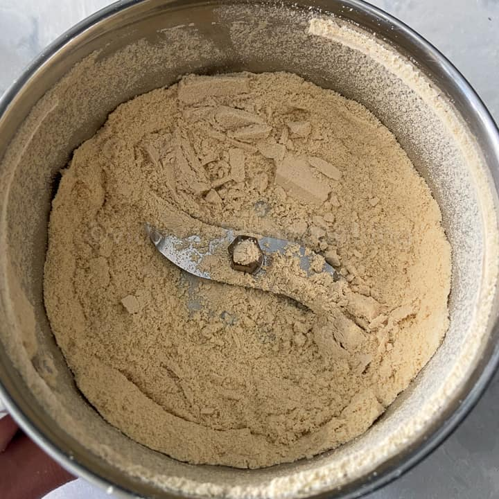 ground flour