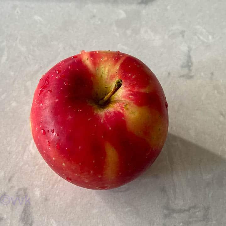 apple that I used