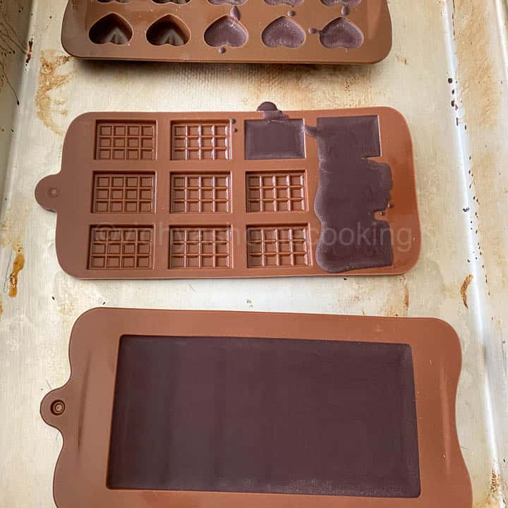 dark chocolate set