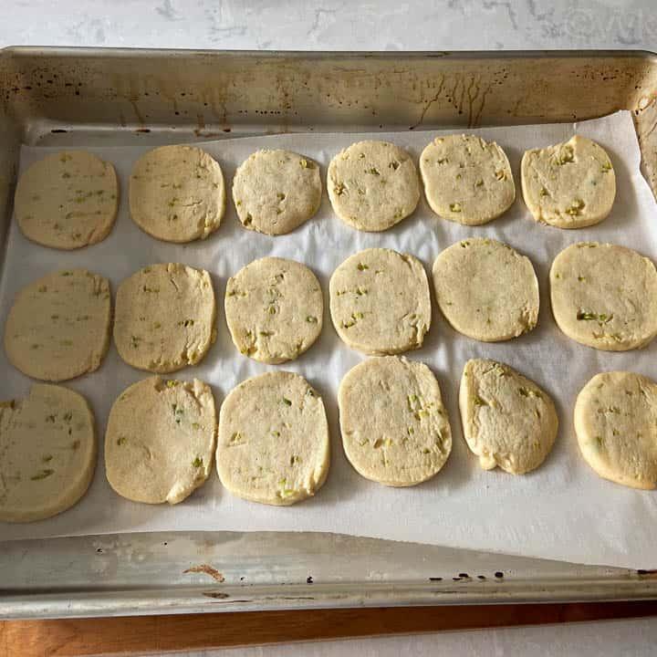 baked cookies