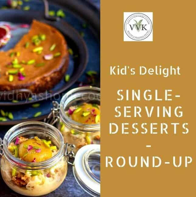 single-serving desserts round up