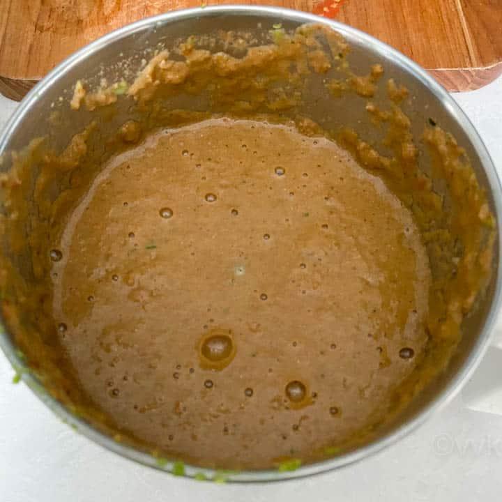 ground tomato masala paste