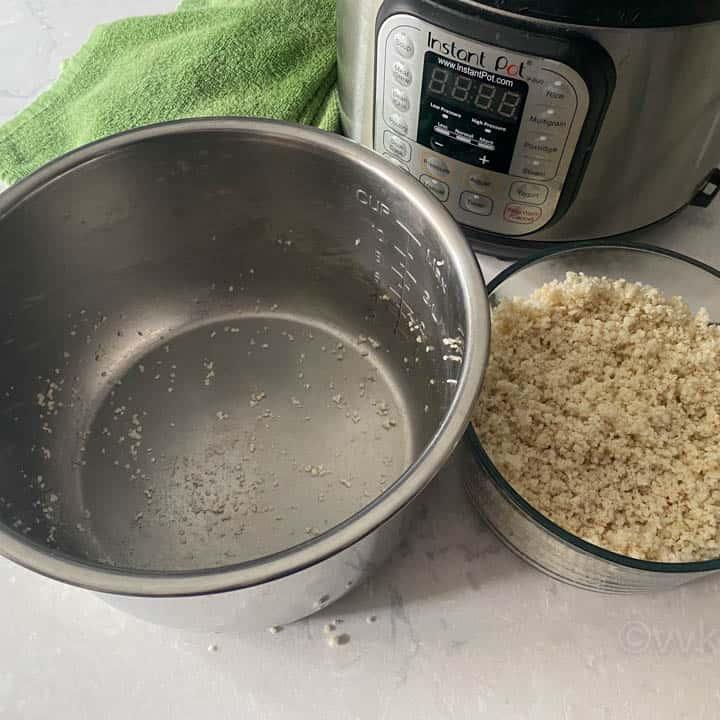 non sticky Instant pot