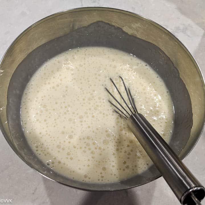 emulsified mix