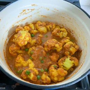 cooking cauliflower until fork tender