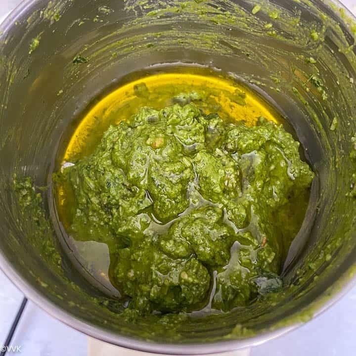adding more olive