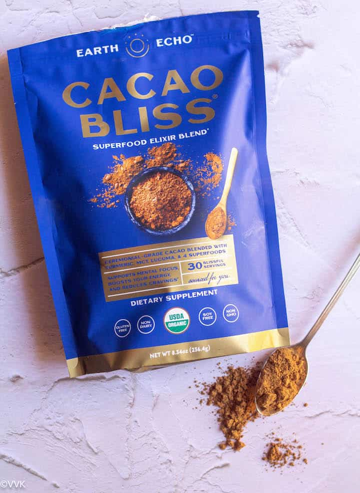 raw cacao bliss pouch