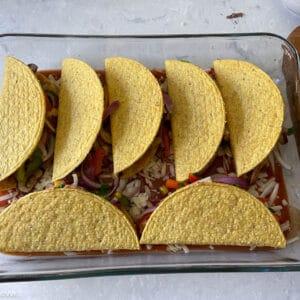 tacos arranged